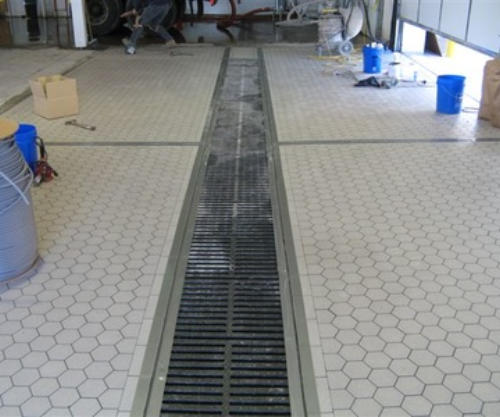 Conmat Inc Brick And Tile Floors - Buffing ceramic tile floors